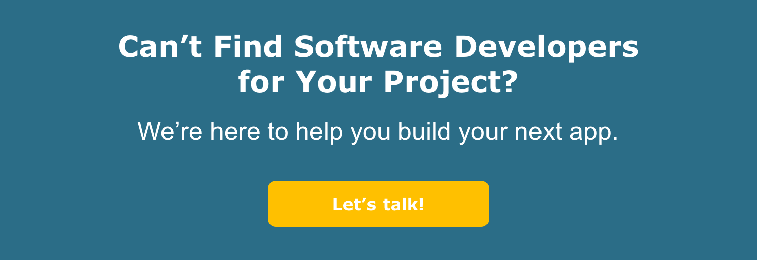 Are You Looking for Software Developers?