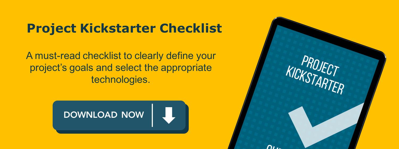Project Kickstarter Checklist